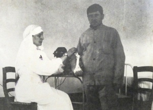 Teresa Hulton became a Red Cross nurse in 1915