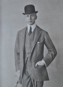 Lord Berwick in his 20s or 30s.