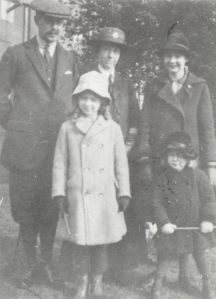 The Van Bergen family, c.1917.