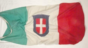 Italian flag in the Attingham collection