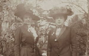 Teresa and Gioconda in Northern Italy, 1910