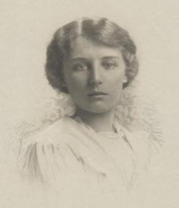 Teresa as a young woman