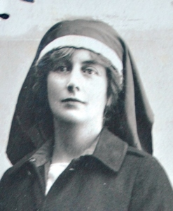 Helen Vincent, later Viscountess D'Abernon in her nurse uniform.