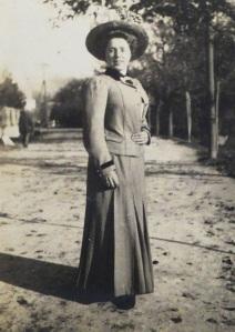 Gioconda in Italy, 1908.