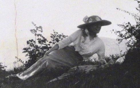 Teresa Hulton in 1913.