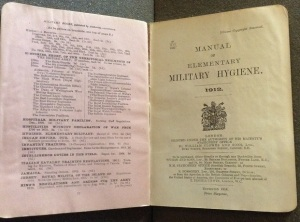 Manual of Elementary Military Hygiene, 1914.