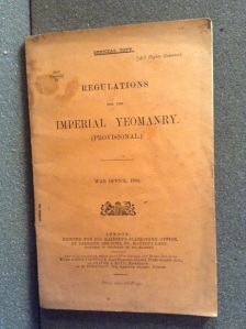 Regulations for the Imperial Yeomanry, 1903