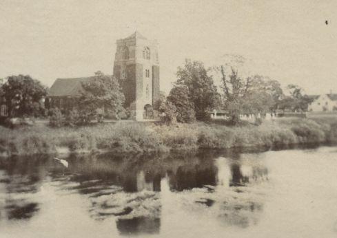 St Eata's Church, Atcham, Shropshire, early 1900s.