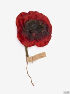 Interwar period British poppy.
