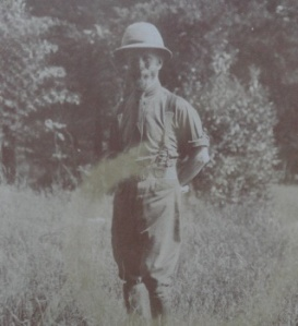 Dr Thomas Ashby during the 1915-1918 war.