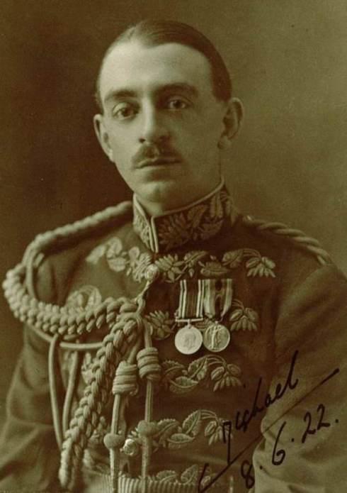 Charles Michael Wentworth Noel-Hill, later 9th Baron Berwick, June 1922.