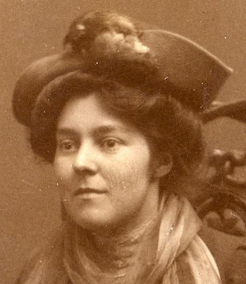 Bridget Talbot, early 1900s. Image courtesy of Kiplin Hall.