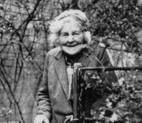 Bridget Talbot in her later years. Image courtesy of Kiplin Hall.