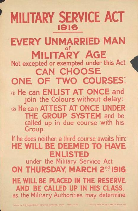 Parliamentary Recruiting Committee Poster No.151, 1916. © IWM (Art.IWM PST 5253)