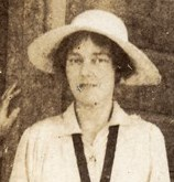 Bridget Talbot, October 1917. Image courtesy of Kiplin Hall.