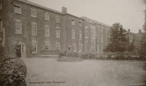 Berrington War Hospital, formerly the workhouse at Cross Houses, Shropshire.